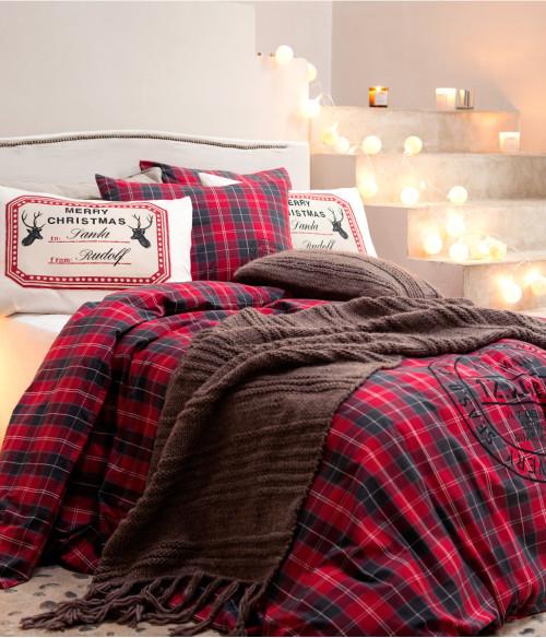 weihnachten im schlafzimmer h keln. Black Bedroom Furniture Sets. Home Design Ideas