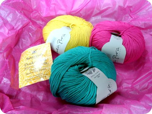 Bio-Baumwoll-Garn in schönen Farben: Organico aus der Linea Pura von Lana Grossa