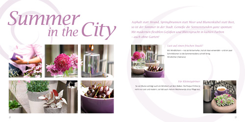 Balkonliene Online Magazin: Summer in the City