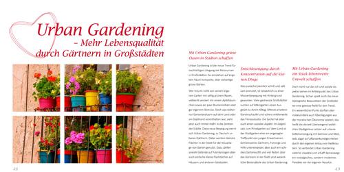 Balkonliene Online Magazin: Urban Gardening