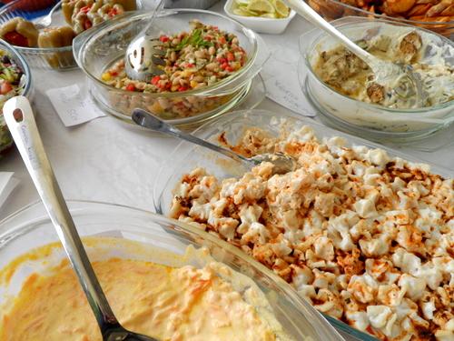Türkische, vegetarische Köstlichkeiten