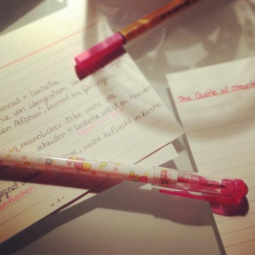 Vorbereitung auf die Anglistik Magisterprüfung
