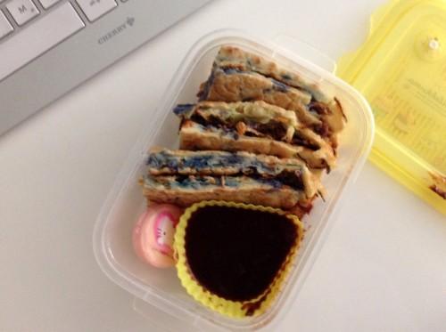 Bento: Okonomiyaki