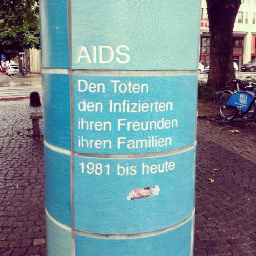 AIDS Gedenkstätte am Sendlinger Tor