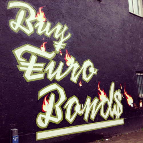 Buy Euro Bonds Graffiti
