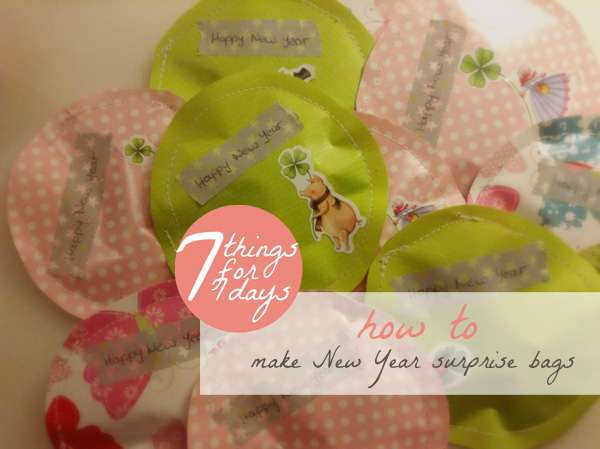 Happy New Year surprise bags