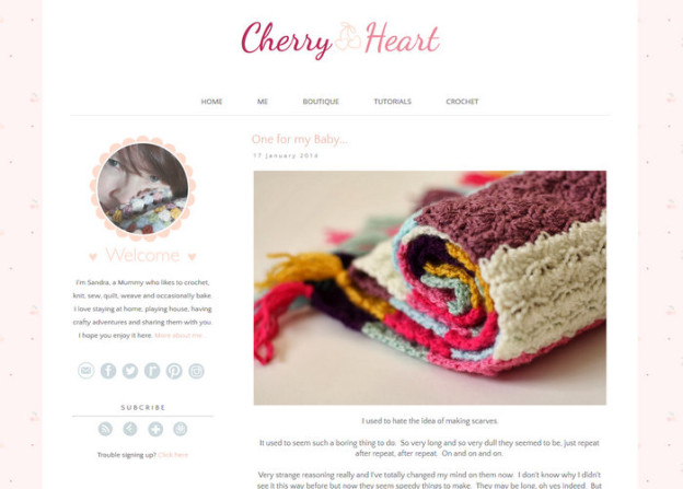 Inspirierende Häkel-Blogs: Cherry Heart