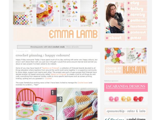 Inspirierende Häkel-Blogs: Emma Lamb