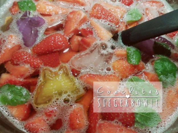 Rezept: Conchitas Siegerbowle (alkoholfrei)