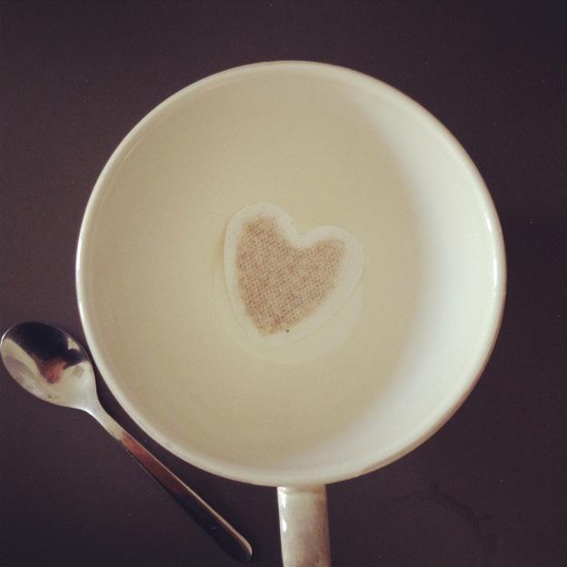 Ein Tee mit Herz braucht keinen Zucker