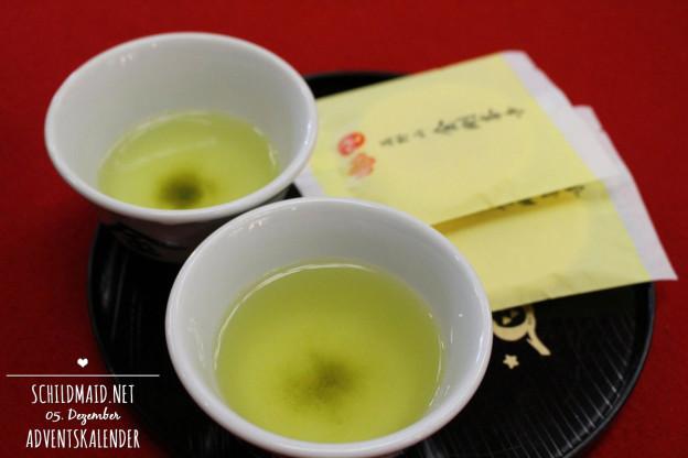 Japans Koya-san: Tee und Reiscracker im Tempel