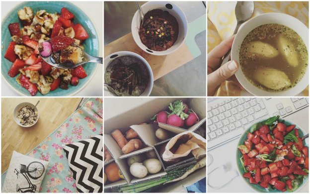 Instagram Food Snapshots